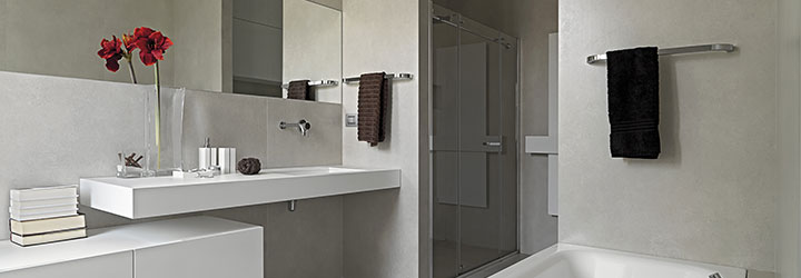 epoxyvloer in badkamer